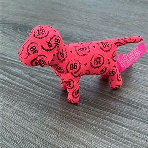 ❤️ Pink Victoria's Secret hot pink and black dog